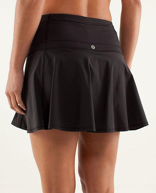 Hot Hitter Skirt in black, lululemon