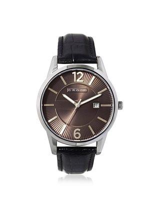 52% OFF Cross Men's CR8002-03 Gotham Round Black Stainless Steel Watch
