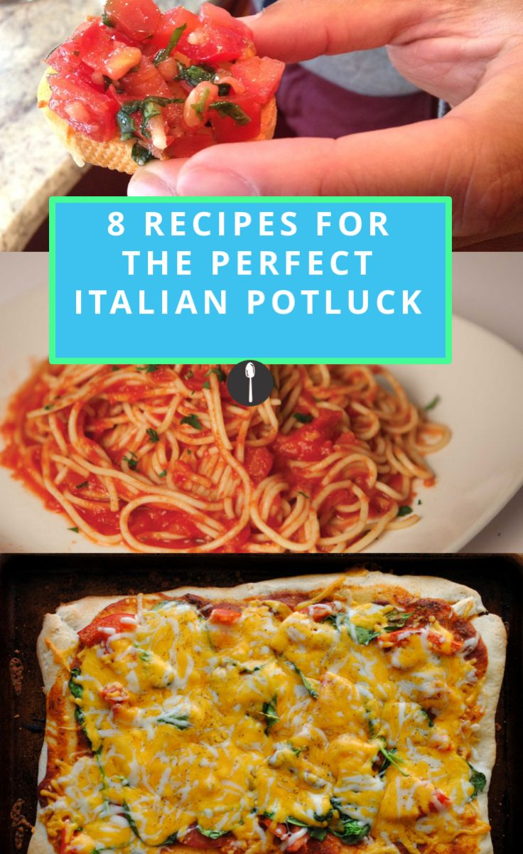 8 Recipes to Make for the Perfect Italian Potluck | Meals ...