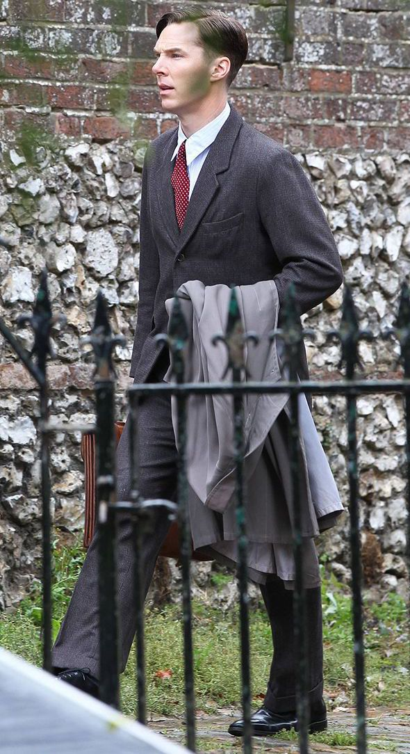 Benedict Cumberbatch and Keira Knightley hark back to the 1940s in The ...