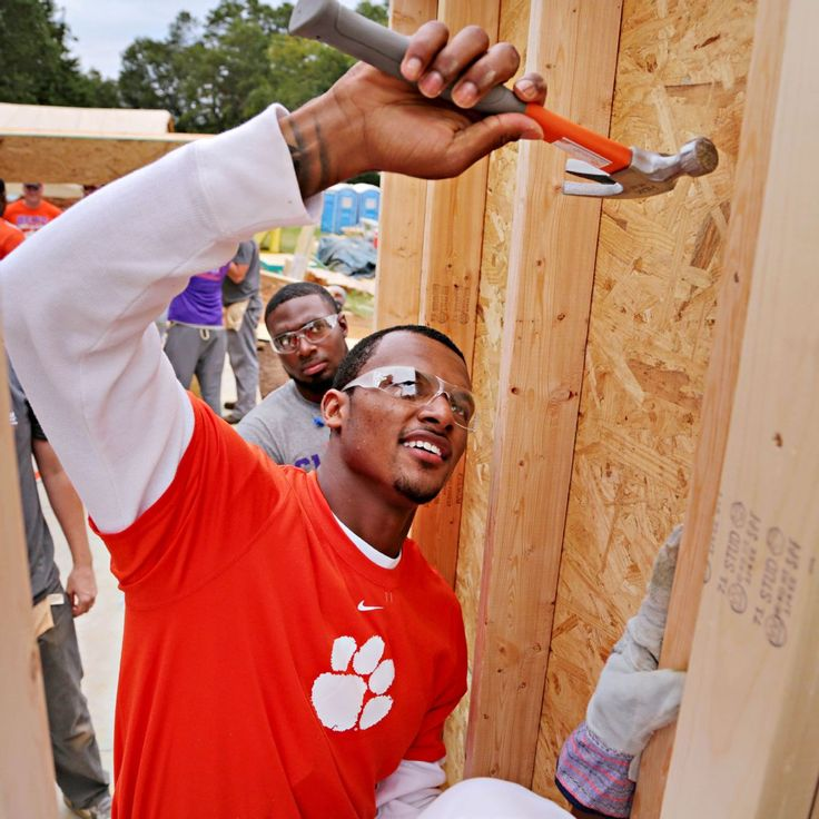 How a house became home for Deshaun Watson. For the love of Habitat!