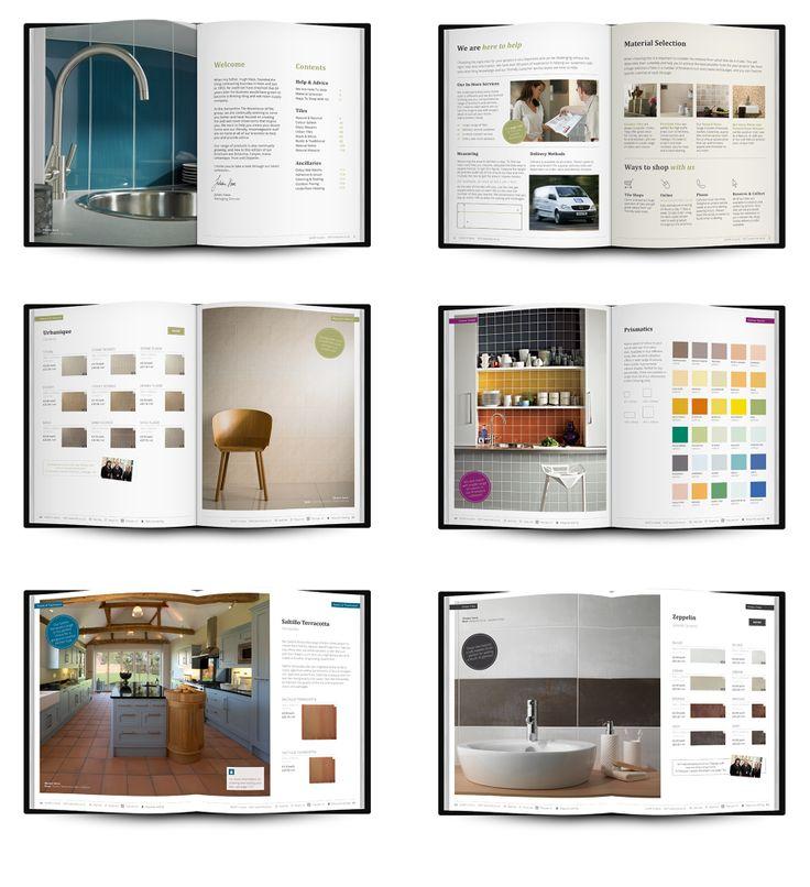 tile brochure design spreads