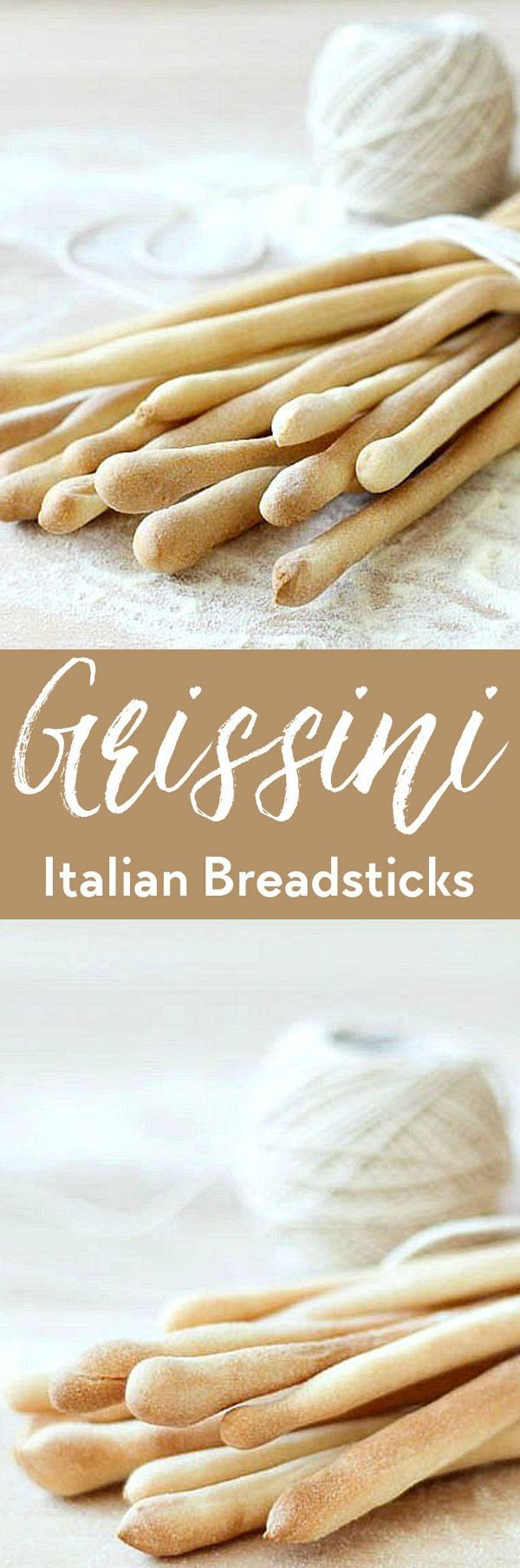 Serve grissini(Italian breadstick) with appetizers, dips or as a snack. Easy recipe with step by step tutorial