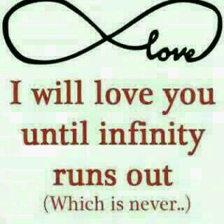 Infinity Love Quotes Prepossessing 72 Best Love Quotes Images On Pinterest  Quote Qoutes And Quotes