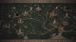 """touzours pure"" ανόθευτο αίμα..να και το θέμα του ρατσισμού στα βιβλία της Ροουλινγκ. Αν και τώρα που το σκέφτομαι,οι μπλακ μου θυμίζουν Χ.Α!"