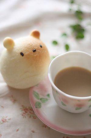 小さなくまぱんとカフェオレとメロディー* : *手作りぱんとおやつ~M's~*