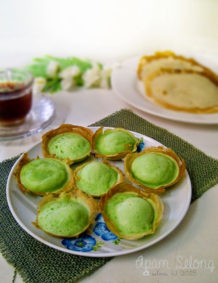Apam Selong Original dan Mini Apam Selong Pandan