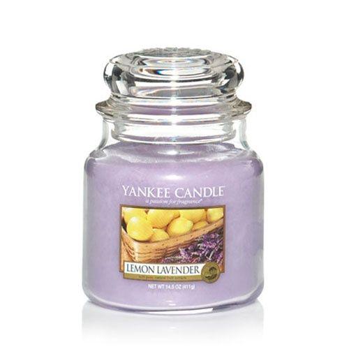 Yankee Candle  Lemon Lavender  Housewarmer Jar