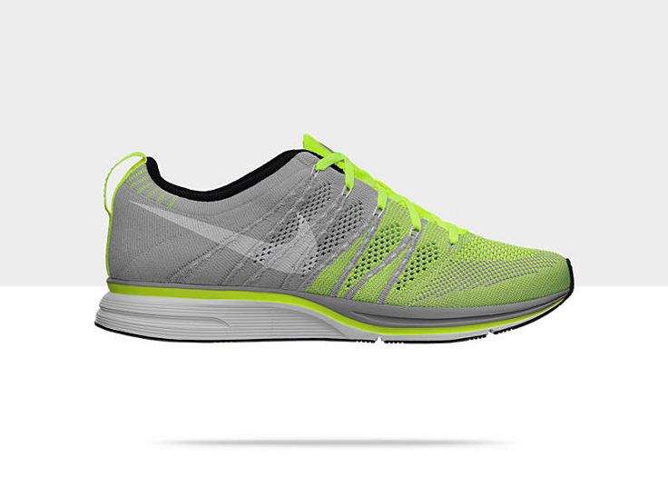 Womens Nike FlyKnit Trainer+ Volt White Tarp Green is inexpensive yet  comfortable.