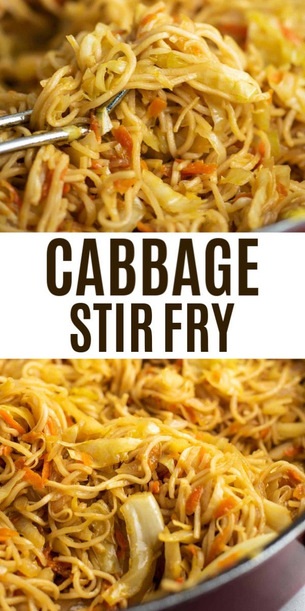 This Stir Fried Cabbage With Ramen Noodles Is So Easy And Good I
