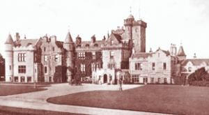 Glenapp Castle Ayrshire built by David Bryce for the Earl of Inchcape in 1870
