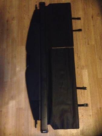 LEXUS RX330 RX350 RX400H Retractable Shade Cargo Cover BLACK