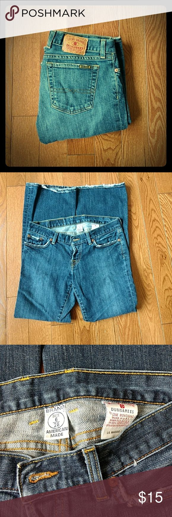Lucky Jeans Authentic Lucky Jeans 28W 29L Lucky Brand Jeans