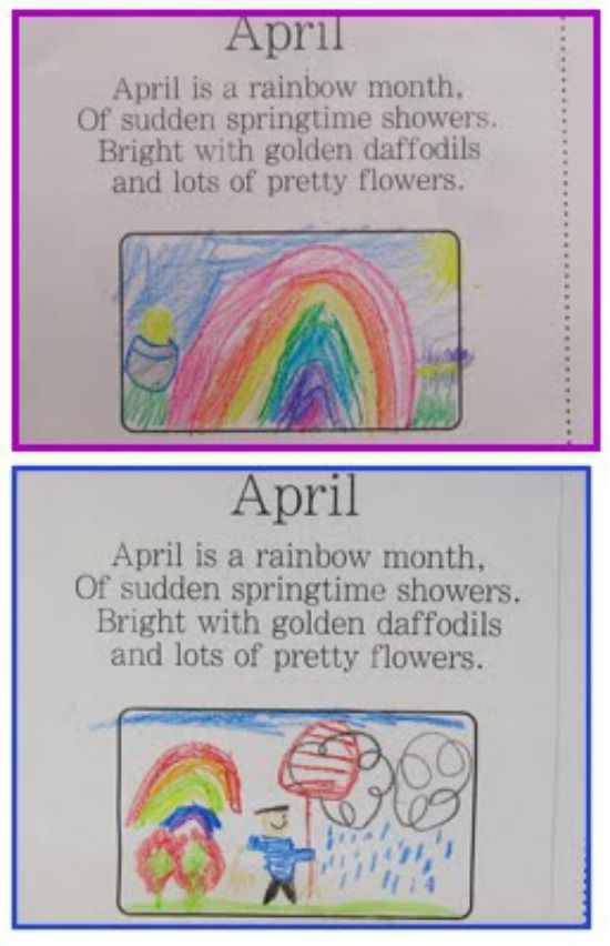 11 Spring Poems for Children and Poetry Ideas - Illustrate in poetry notebooks
