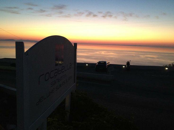 Sunrise @ Rocabella deluxe suites & spa Santorini !!!