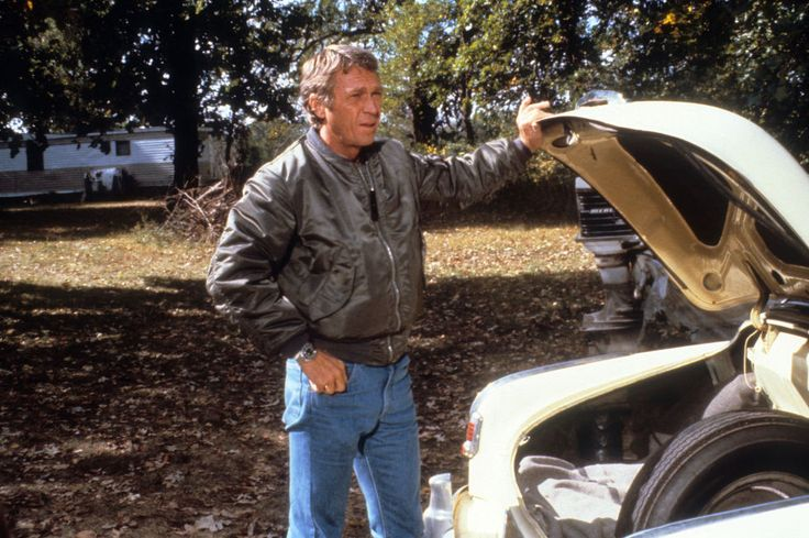 """The flight jacket got a big boost from the Steve McQueen classic The Hunter, where menswear's favorite actor wore it when he played legendary bounty hunter Ralph """"Papa"""" Thorson."""