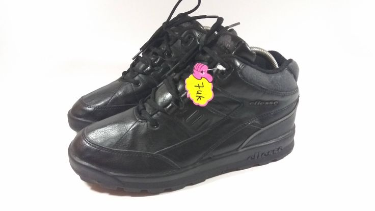 Excited to share the latest addition to my #etsy shop: Rare Ellesse High Cut Black Hip Hop Shoes http://etsy.me/2DqelT3 #clothing #shoes #black #backtoschool #thanksgiving #highcutshoes #blackshoes #hiphopwear #elleseshoes
