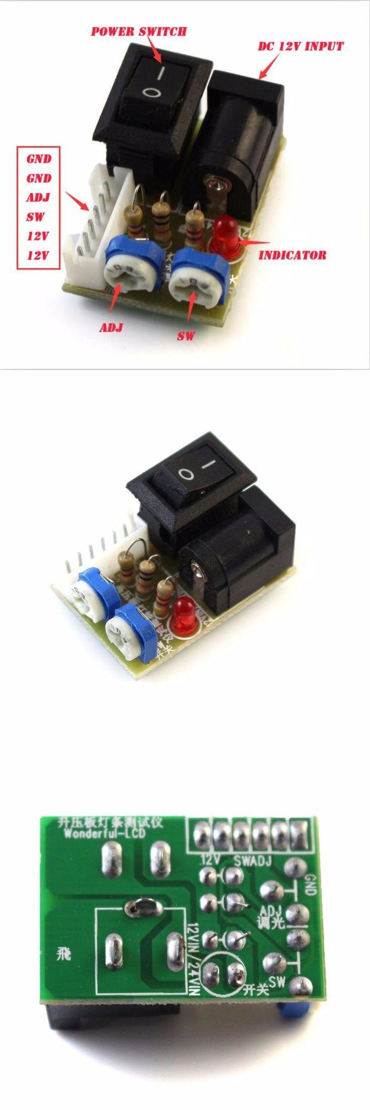 Mini Tester Per Inverter CCFL LCD TV Laptop Screen Repair Backlight Lamp 12V Swtich 6Pin w/ Cable