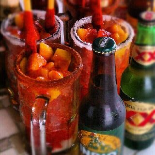 Mango Michelada.Id kill for one of these right now!so unbelivably good!
