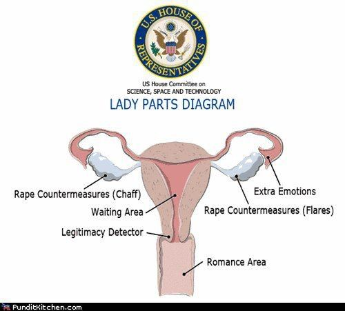 If Todd Akin taught female biology