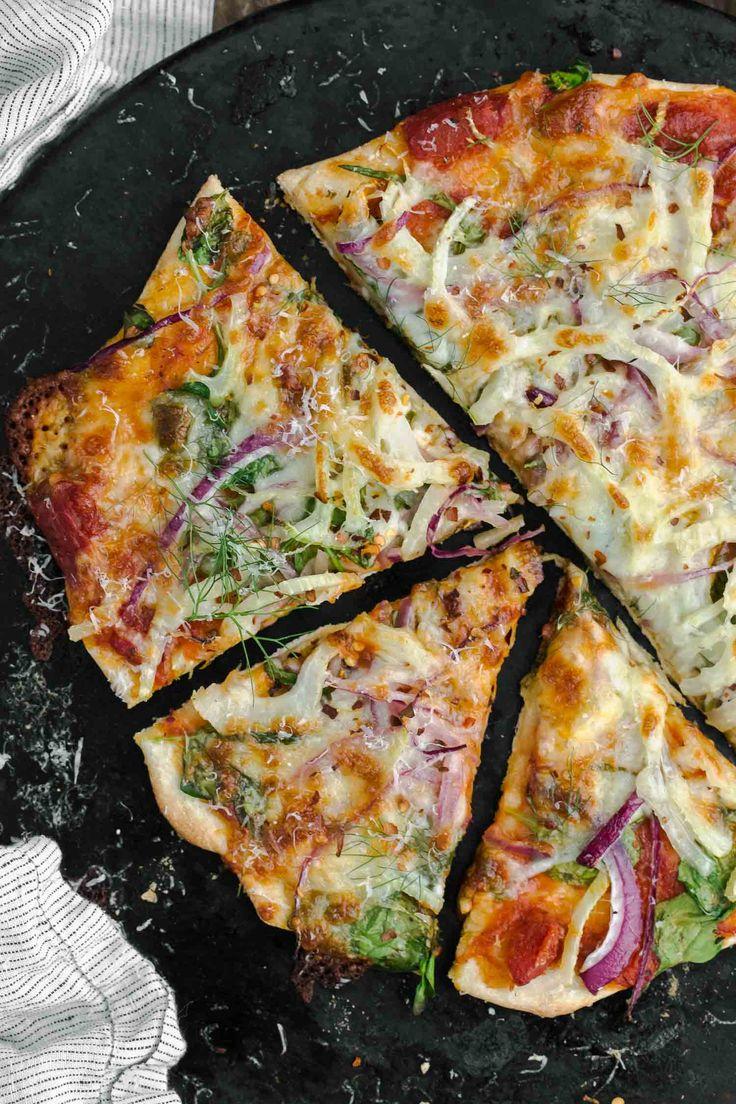 Blue apron spinach pizza - Spinach Fennel Pizza