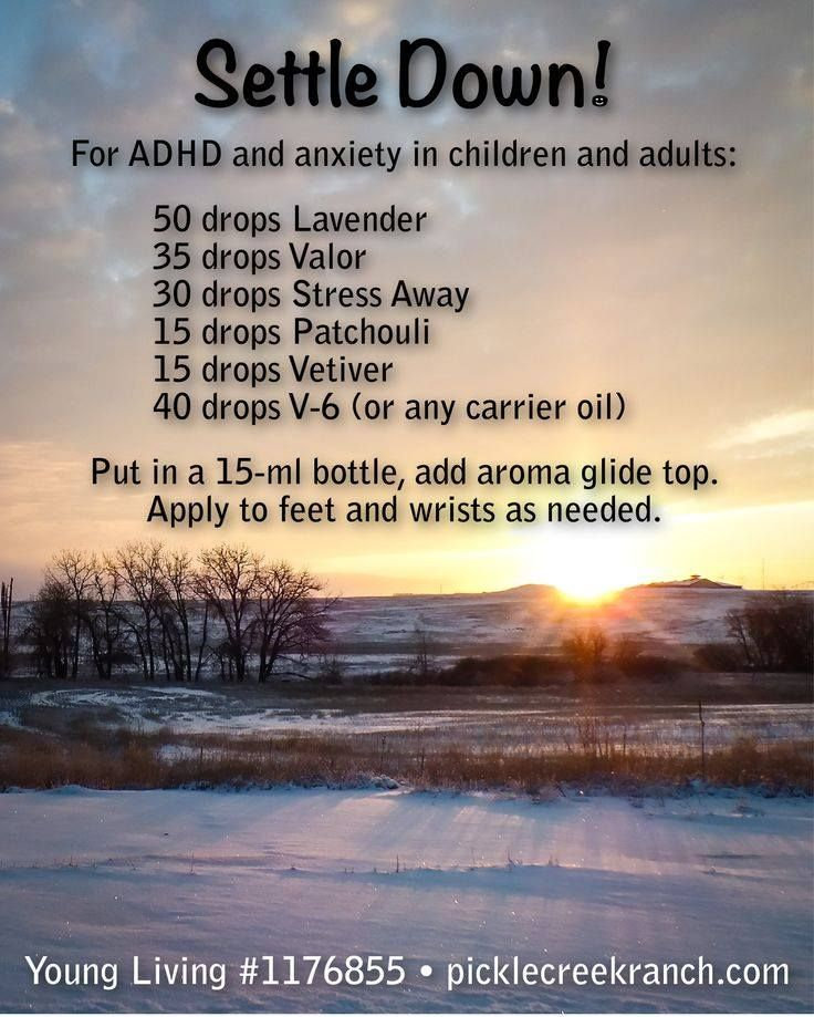 Young Living Essential Oils: ADHD Anxiety Liquid Xanax