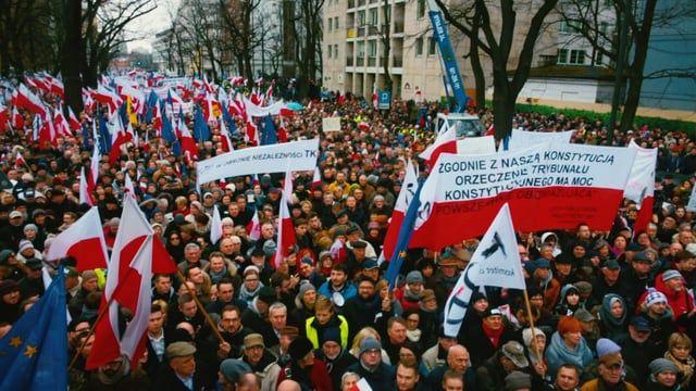 zapowiedz marsz KOD My, Narod - 27.02.2016