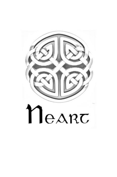"""Símbolo celta para la fuerza y """"neart"""" significa fuerza en gaélico."""
