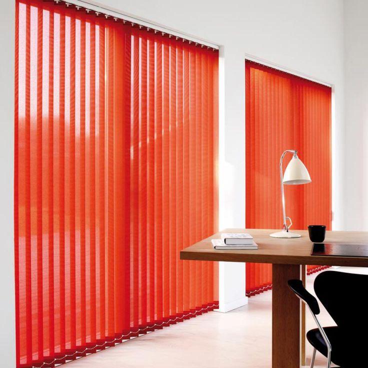 Store bandes verticales - Lamelles baies vitrées Mariton. Une protection solaire.