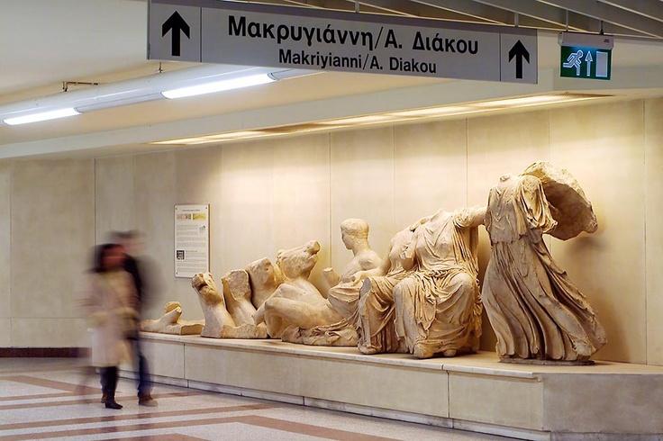 Athens subway