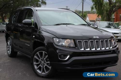 2015 Jeep Compass MK MY14 Limited (4x4) Black Automatic 6sp A Wagon #jeep #compass #forsale #australia