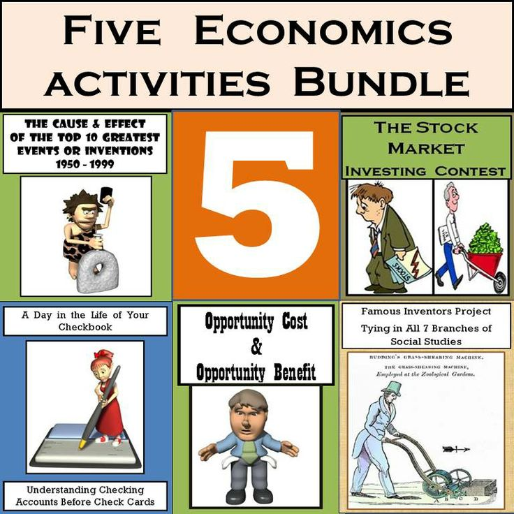 Here Are 5 Economics Activities That I 39 Ve Used For Years