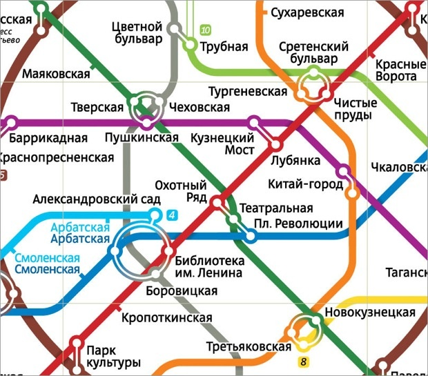 Shadowy Design Mind Artemy Lebedev Speaks About His New Moscow Metro Map | Fast Company | Business + Innovation