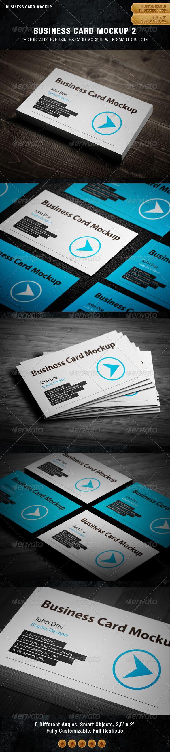 718 best Business Card Mockup images on Pinterest | Miniatures ...