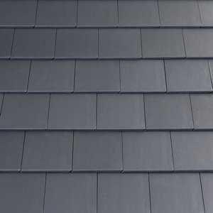 Auffallend anders: Der neue Beton-Dachstein vereint moderne Optik mit klassischer Qualität. (Foto: epr/Eternit AG)