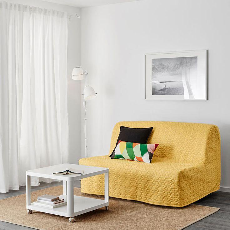 les 16 meilleures images du tableau canap jaune sur pinterest canap jaune fauteuil jaune et. Black Bedroom Furniture Sets. Home Design Ideas