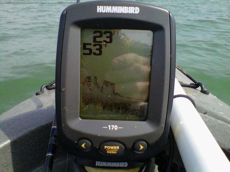 La sonda de pesca para kayak