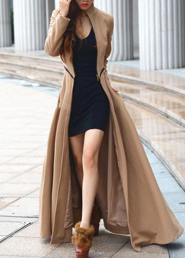 fabulous Trench (but what's up with those shoes?)
