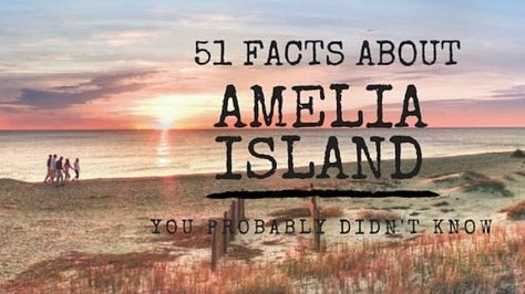 51 Facts About Amelia Island