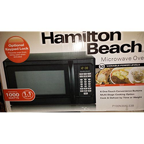 Hot Products Hamilton Beach 1000 Watt Microwave with Child Lock Best Microwave not only practical and economical it39s stylish too Available with a variety of today39s most popular features this handy microwave is well suited for the dorm room office cottage or kitchen  You buy Hamilton...
