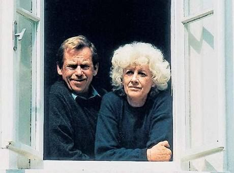 Olga Havlová - Charter 77 signatory - wife Vaclav Havel