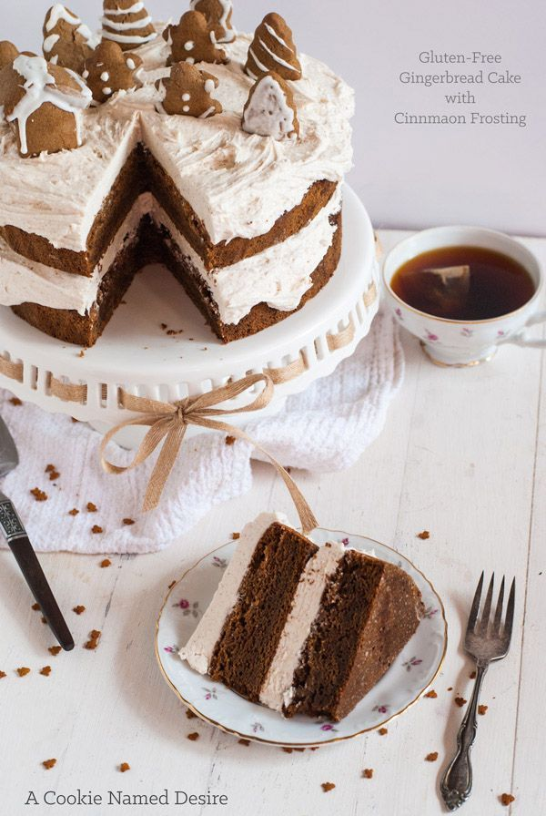 Gingerbread Cake with Cinnamon Buttercream + Gingerbread ...