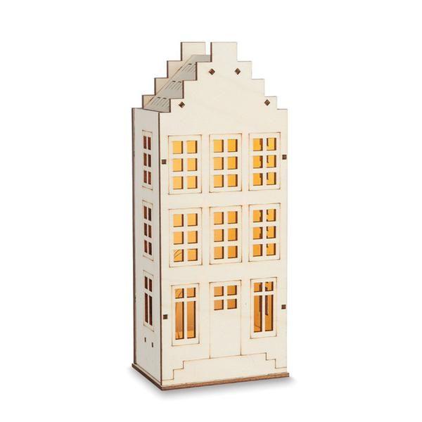 Citta Flemish LED House Light Ornament Large