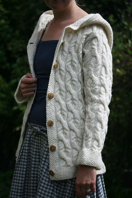 Love everything about this outfit. Ravelry: The Shepherd hoodie pattern by Kate Davies
