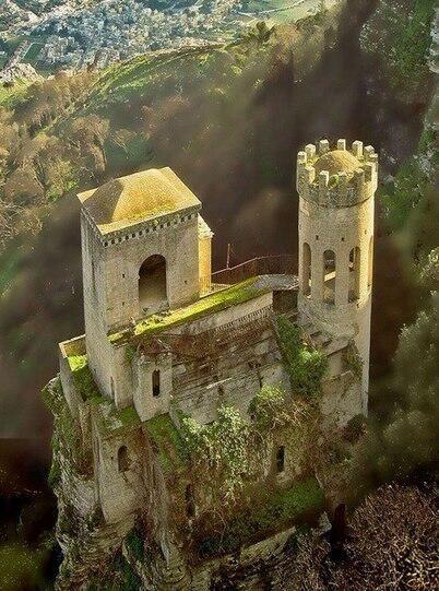 Enchanting Erice Castle Sicily