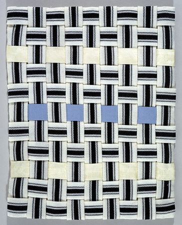 Louise Bourgeois, Untitled, 2002 Woven fabric 27.3 x 21.6 cm / 10 3/4 x 8 1/2 in