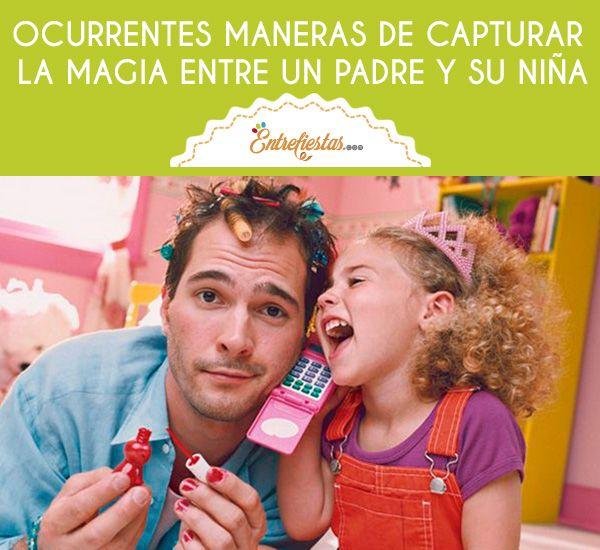 La relación entre un padre con su hija siempre va a ser un amor especial que muy pocos pueden entender. Así que si planeas una sesión de fotos entre tu niña y su papá, no puedes dejar de leer el siguiente post, el cual está cargado de muchas ideas.