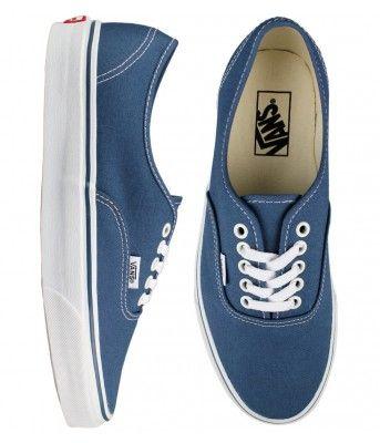 Vans Authentic Skate Shoes - Navy $41.00 #vans #authentic