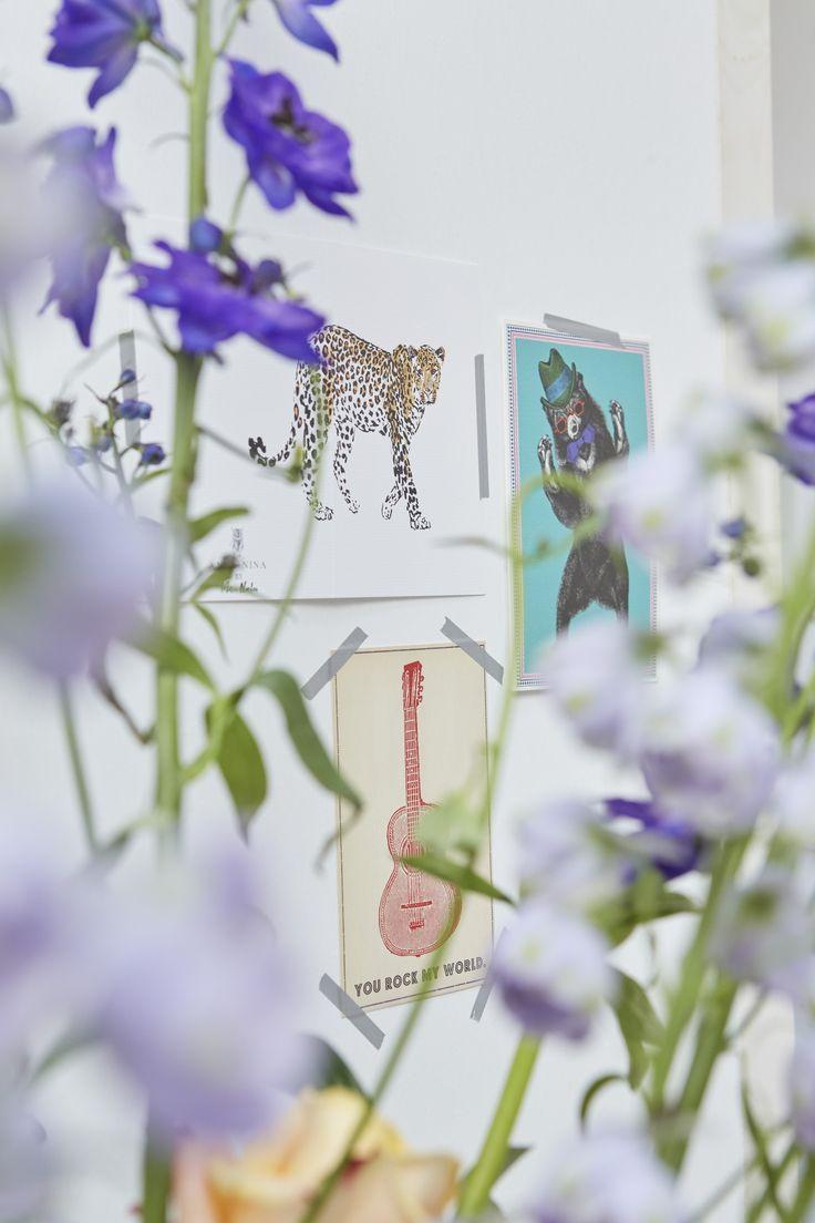 KLEUR | Combineer vrolijke prints met kleurrijke bloemen #accessoires