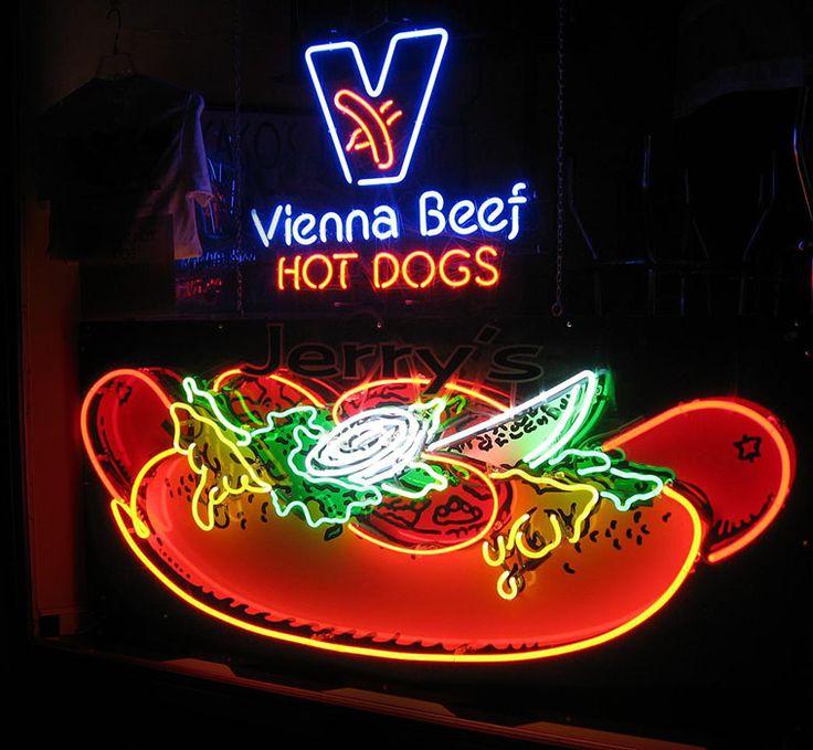 Vienna Beef Hot Dogs ~ San Antonio, TX.